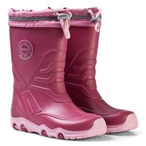 Reima Girls Boots Pink Slate Rain Boots Dark Berry