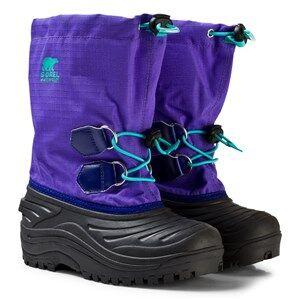 Sorel Girls Boots Purple Youth Super Trooper Boot Purple Arrow