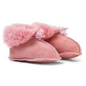 Melton Girls Shoes Pink Lamb Wool Shoes Rosa