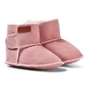 Melton Girls Boots Pink Lambfur Bootie Alt Rosa