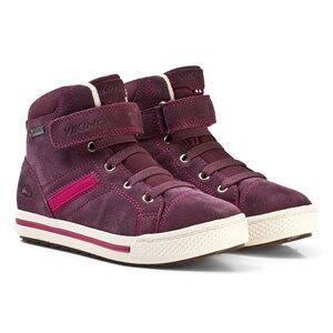 Viking Unisex Shoes Purple EAGLE III GTX Shoes Aubergine/Fuchsia