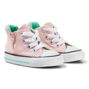 Converse Girls Sneakers Pink Pink Watermelon Chuck Taylor Hi Tops Sneakers