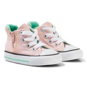Image of Converse Girls Sneakers Pink Pink Watermelon Chuck Taylor Hi Tops Sneakers