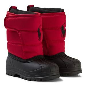 Ralph Lauren Girls Boots Red Red Hamilten II Snowboots