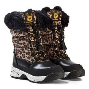 Hummel Unisex Boots Black Snow Boot Leo Jr Black