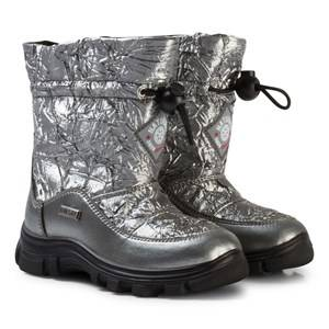 Naturino Unisex Boots Silver Varna Waterproof Boots Silver