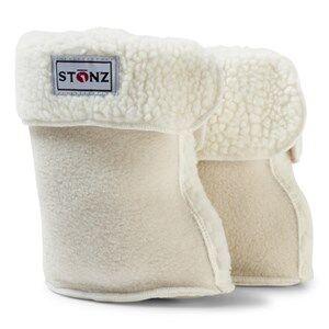 Stonz Unisex Boots White Bootie Linerz White
