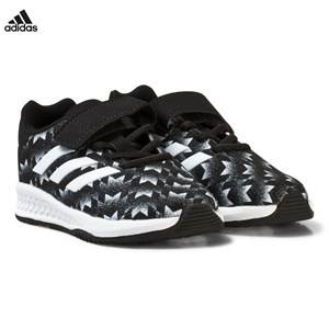 adidas Performance Boys Sneakers Black Black Rapida Man U Infants Trainers
