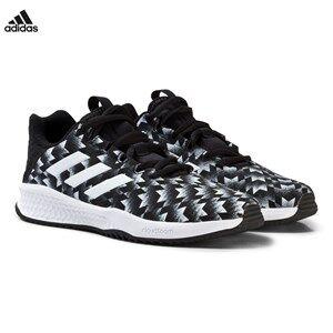 adidas Performance Boys Sneakers Black Black Rapida Man U Kids Trainers