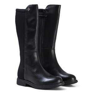 Stuart Weitzman Girls Boots Black Black Leather 50/50 Tall Boots