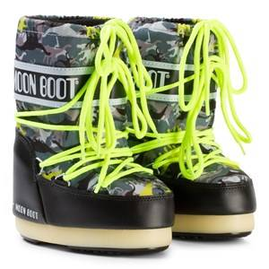 Moon Boot Unisex Boots Black Moon Boot T-Rex Black/Green