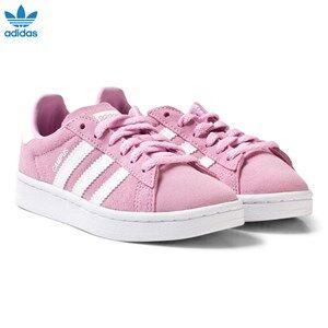 adidas Originals Girls Sneakers Pink Pink Kids Campus Trainers