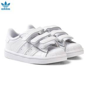 adidas Originals Unisex Sneakers White White Superstar Infant Trainers
