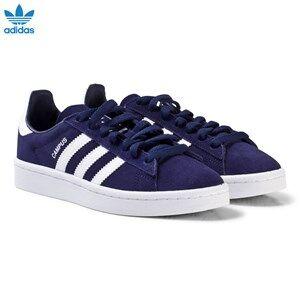 adidas Originals Boys Sneakers Blue Navy Junior Campus Trainers
