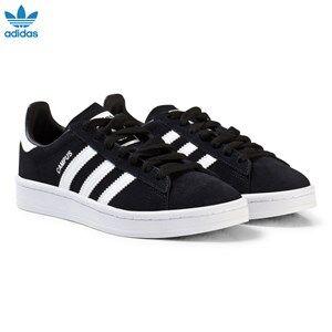 adidas Originals Boys Sneakers Black Black Junior Campus Trainers
