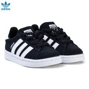adidas Originals Boys Sneakers Black Black Infants Campus Trainers