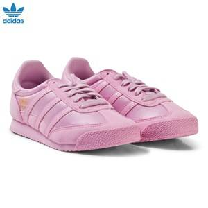 adidas Originals Girls Sneakers Pink Pink Junior Dragon Trainers