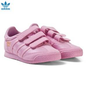 adidas Originals Girls Sneakers Pink Pink Kids Dragon Trainers