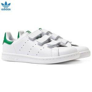 adidas Originals Unisex Sneakers White White Stan Smith Velcro Trainers
