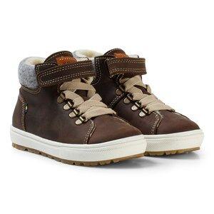 Kavat Unisex Sneakers Brown Borggård EP Winter Boots Dark Brown