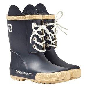 Didriksons Unisex Childrens Shoes Boots Navy Splashman Kid