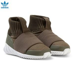 adidas Originals Boys Sneakers Brown Tubular Doom 360 Trainers Branch