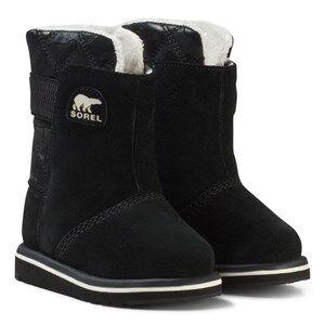 Sorel Girls Boots Black Children's Rylee™ Camo Black/Light Bisque