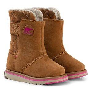 Sorel Girls Boots Brown Children's Rylee™ Camo Elk/Pink Ice