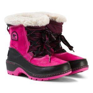 Sorel Unisex Boots Pink Youth Torino™ Camo III Pink Ice/Black
