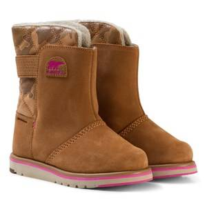 Sorel Girls Boots Brown Youth Rylee™ Camo Elk/Pink Ice