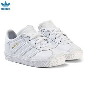 adidas Originals Unisex Sneakers White White Gazelle Infants Trainers