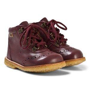 Bisgaard Girls Boots Purple Boots Plume