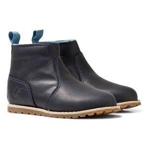 Timberland Navy Pokey Pine Zip Chukka Boots Lasten kengt 23 (US 6,5)
