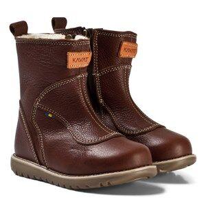 Kavat Norberg EP Boots Dark brown Lasten kengt 24 EU