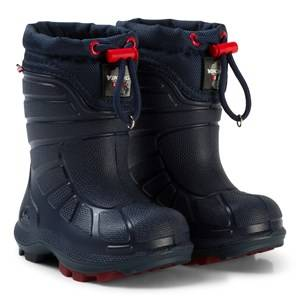 Viking Extreme Boot Navy/Red Wellingtons