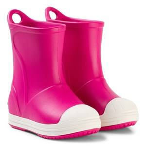 Crocs Bump It Boots Candy Pink/Oyster Wellingtons