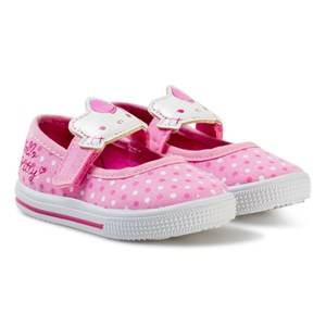 Hello Kitty Ballerina Velcro Sneakers Pink Lasten kengt 22 EU