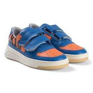 Acne Studios Blue & Orange FA MI Shoes Lasten kengt 33 EU