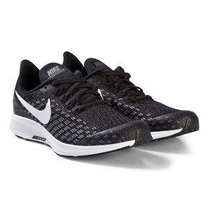 NIKE Black Nike Air Zoom Pegasus 35 Performance Trainers Lasten kengt 33 (UK 1)