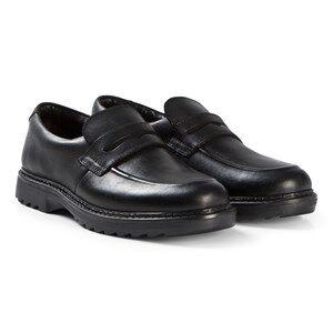 Image of Clarks Asher Stride Shoes Black Leather Lasten kengt 42 (UK 8)