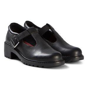 Image of Clarks Frankie Street Shoes Black Leather Lasten kengt 42.5 (UK 8.5)