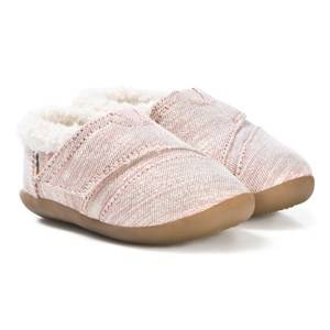Toms Rose Cloud Lurex Slippers Lasten kengt 36 (UK 3)