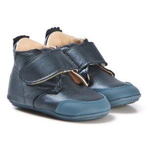 Easy Peasy Blue Shimmer Ivel First Walker Shoes Lasten kengt 18 (UK 2)