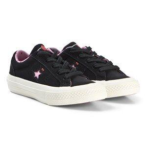 Converse Black Hello Kitty One Star Sneakers Lasten kengt 36 (UK 3.5)