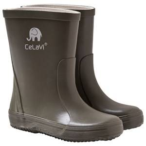 Celavi Basic Wellies Solid Army Wellingtons