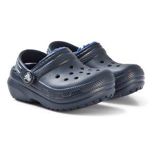 Crocs Classic Lined Clog K Navy/Cerulean Blue Lasten kengt C6 (EU 22/23)