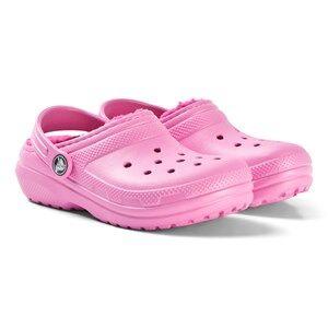 Crocs Classic Lined Clog K Party Pink/Candy Pink Lasten kengt C8 (EU 24/25)