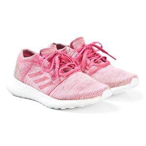adidas Performance Pink PureBoost GO Junior Sneakers Lasten kengt 36 2/3 (UK 4)