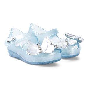Mini Melissa Sky Shimmer Ultragirl Flutter Shoes Lasten kengt 19-20 (UK 4)