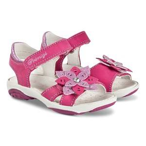 Primigi Pink and Purple Metallic Embellished Sandals Lasten kengt 24 (UK 7)